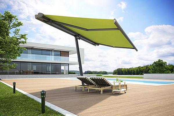 gelenkarm markisen offen. Black Bedroom Furniture Sets. Home Design Ideas